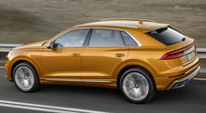 Audi Q8, sicurezza da primato. A bordo sistema integrato che controlla e aiuta: dal parcheggio ai viaggi