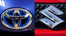 Accordo Toyota-Suzuki per scambio azionario. Insieme anche per sviluppo della guida autonoma