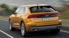 Q8, look da sportiva ma a suo agio anche in offroad. Il nuovo Suv Audi è senza confini