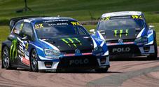 WRX, doppietta Volkswagen a Lydden Hill, Solberg e Kristoffersson dominano con la Polo