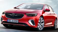 Opel Insignia GSi, colpo di Fulmine: trazione integrale e 2.0 turbo da 260 cv