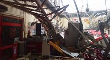 La distruzione provocata dal ciclone a Beira, in Mozambico