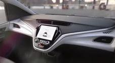 Cruise AV, GM presenta la prima auto senza volante e pedali