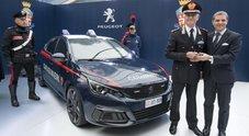 La sportiva del Leone si trasforma in Gazzella: una Peugeot 308 GTi per i Carabinieri