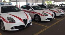 Alfa Romeo, la Polizia Municipale di Firenze rinnova il parco auto con 18 Giulietta