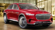 Mercedes-Maybach Ultimate Luxury, il superSuv che è anche sala da the