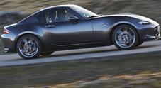 Mazda MX-5 RF, arriva il tetto rigido: la mitica spider è anche coupé