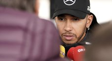 Gp Usa, Hamilton vede titolo: «Ad Austin Ferrari agguerrite, alziamo l'asticella. Defesa Seb? Rispetto, lui avrebbe fatto lo stesso»