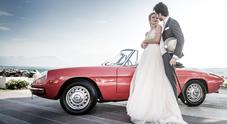 """""""Grazie ai sanitari"""", la Slow Drive regala il noleggio di un'auto classica per il matrimonio a medici e infermieri"""