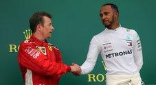 Gp Baku, Raikkonen:«è stata dura, ma ho avuto ragione». Hamilton: «Non pensavo di farcela»