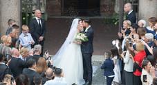 Lorenzo Pellegrini sposa Veronica: il sì a due passi dal Colosseo (foto Davide Fracassi/Ag.Toiati)