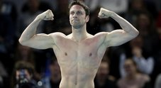 Luca Dotto, campione di nuoto