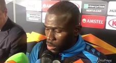Napoli, la delusione di Koulibaly: «Dovemo avere più rabbia per fare dei gol»