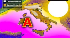 Da lunedì arriva l'estate di San Martino: temperature eccezionali, ma non per tutti