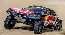 "Al via la Dakar 2018, lo squadrone Peugeot sugli scudi. Peterhansel punta al tris con la ""bestia"" 3008"