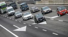 """Da zero a cento in cinquant'anni: il """"Ritorno al futuro"""" dei gioielli Mercedes"""