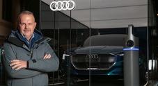 Audi, Enel e Cortina unite per il lancio del Suv elettrico e-tron e per diffondere la mobilità ecologica