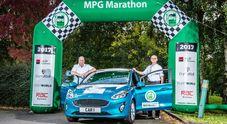 Ford, nuova Fiesta ed il pickup Ranger campioni di consumi all'MPG Marathon