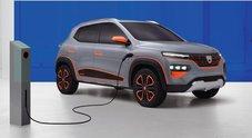 Svelata Spring Electric. Prove di elettrico low cost con il concept Dacia
