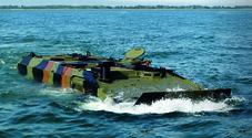 I Marines sbarcano con Iveco. il nuovo mezzo anfibio del corpo speciale Usa sarà made in Italy