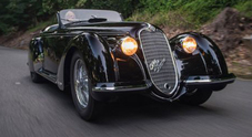 Il Biscione protagonista delle aste: Alfa 8C 2900B Touring venduta a 19,8 mln