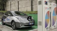 Nissan, ricarica gratis per le auto elettriche con tecnologia V2G