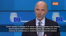 Moscovici: «Cambio di toni da Italia, ora dialogo con Ue è intenso»