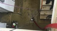 Caldarola invasa da acqua e fango: il sindaco chiede lo stato di calamità