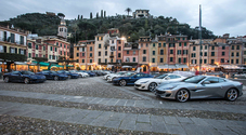 Ferrari Portofino in tour, 20 gioielli del Cavallino in giro per le strade più belle d'Europa