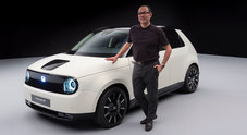 Hitomi, Honda: «L'elettrica E è l'auto compatta del nuovo mondo»