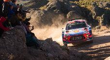 L'esordio del WRC in Cile, Neuville (Hyundai) cerca l'allungo. Ogier (Ford) e Tanak (Toyota) all'inseguimento