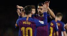 """Messi festeggia il traguardo dei 400 gol con un blitz in Friuli dal """"guru"""" sacilese"""