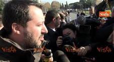 Salvini: «Grazie a carabinieri e polizia»