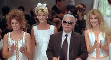 L'addio del mondo della  moda a Karl Lagerfeld