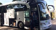 Lazio, la squadra arriva ad Essen per il test con il Borussia Dortmund