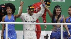 F1, il trionfo di Hamilton nel Gp del Brasile