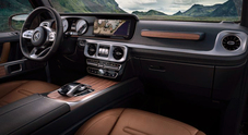 Mercedes, la leggenda del fuoristrada si rinnova. Lusso e tecnologia negli interni della nuova Classe G