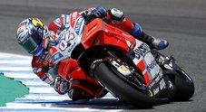 Dovizioso: rinnovo e record della pista, un venerdì d'oro a Le Mans. In Ducati fino al 2020