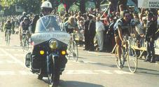 La Polizia Stradale festeggia il 70° anniversario anche al Giro d'Italia