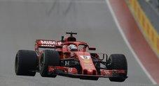 F1, le immagini spettacolari del GP di Austin