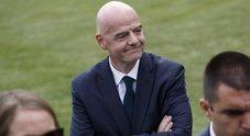 Razzismo, la condanna di Infantino: «L'Italia non migliora, è grave»