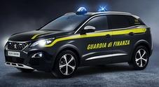 Peugeot, la Guardia di Finanza passa al Suv: ecco la 3008 GT in divisa