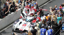Le Mans, l'Audi R18 è la signora della 24 Ore: Toyota e Porsche si arrendono