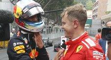 Gp Montecarlo, Vettel:«Gara complicata, secondo posto buon risultato»