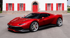 Ferrari SP38, l'esclusivo pezzo unico del Cavallino