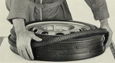 Pirelli celebra il BS3, pneumatico con il cappotto ha 60 anni. Battistrada intercambiabile a seconda della stagione