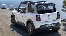 Citroën E-Mehari, la cabrio elettrica punta sulla personalizzazione. C'è anche l'hard top