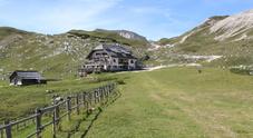 Il rifugio Sennes, tra Ampezzo e Sudtirolo