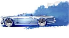 Mulsanne, Bentley risponde alla Rolls: anche l'ammiraglia sarà Convertible