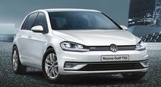 VW spinge la mobilità green: Golf a metano allo stesso prezzo del benzina. Sotto al cofano il 1.4 TGI